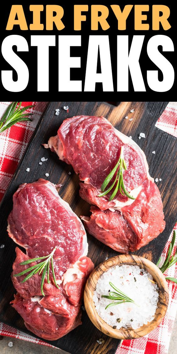 air fryer steaks