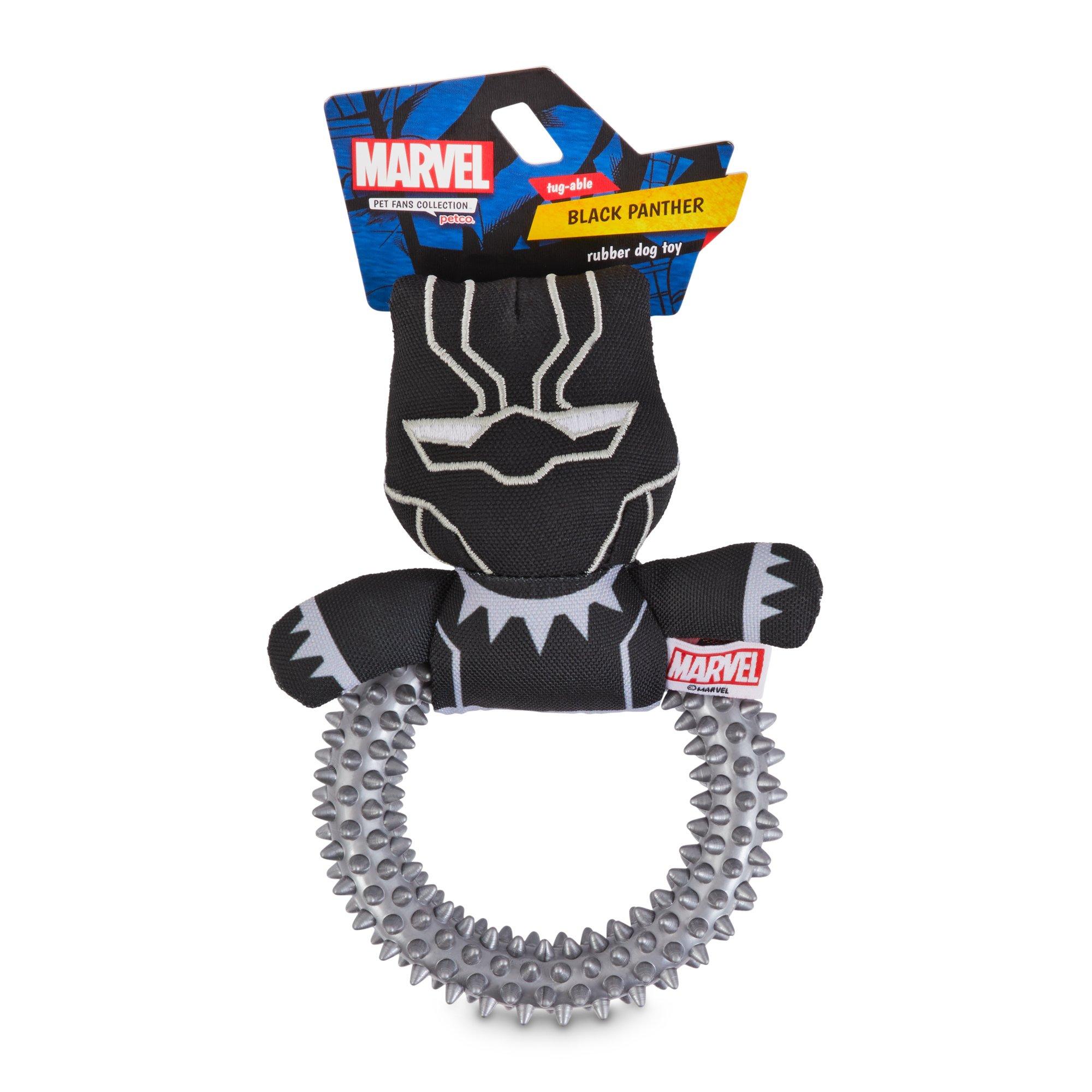 Marvel Avengers Black Panther Rubber Dog Toy Small In 2020 Dog Toys Black Panther Black Panther Character