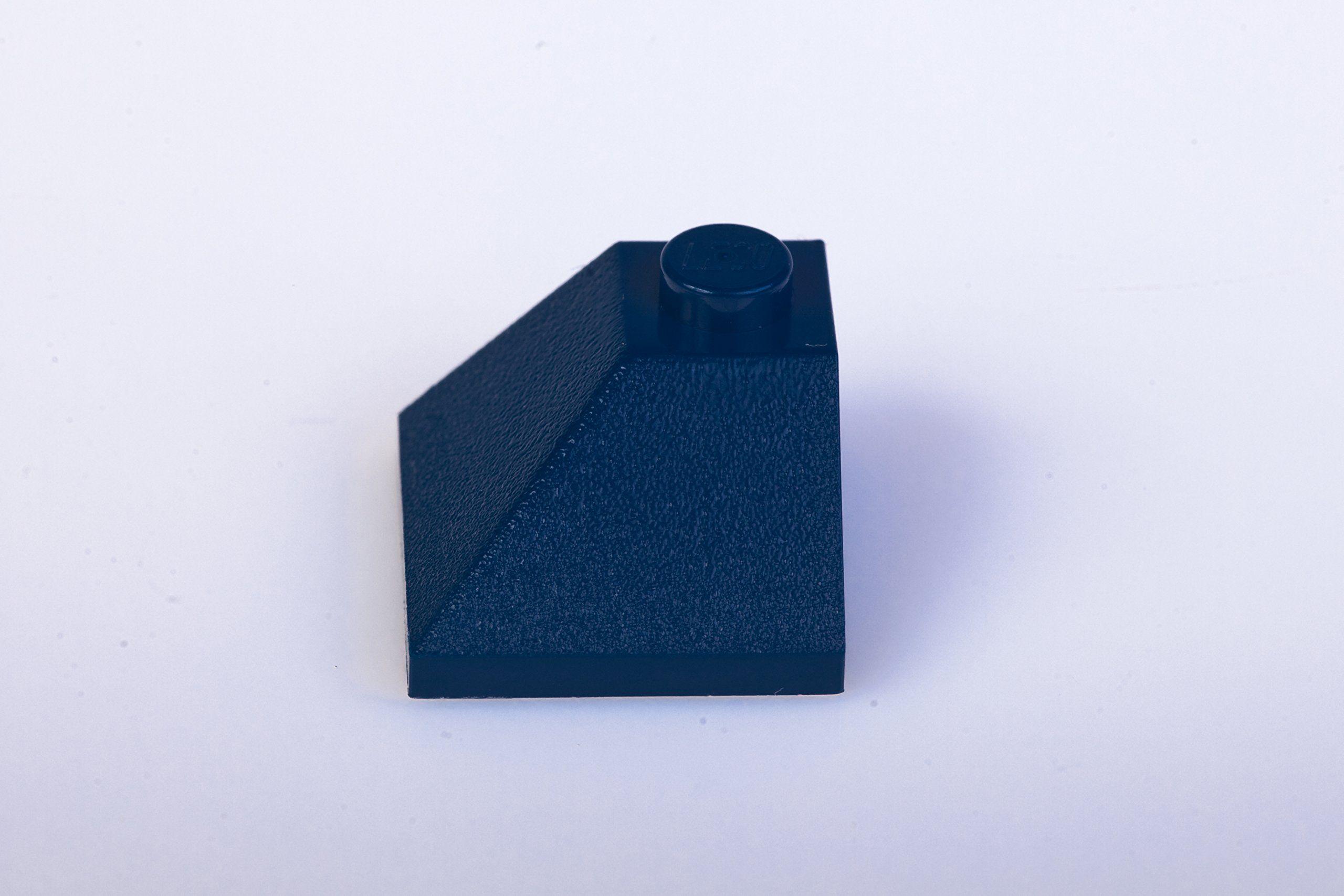 Lego 4 Blue 1x3 Finishing tile NEW