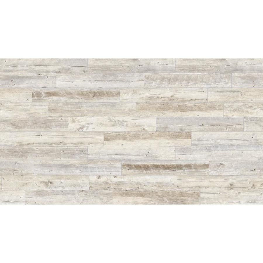 Style Selections Natural Timber Whitewash 6 In X 36 In Glazed Porcelain Wood Look Tile Lowes Com Wood Look Tile Porcelain Wood Tile Wood Tile Floors