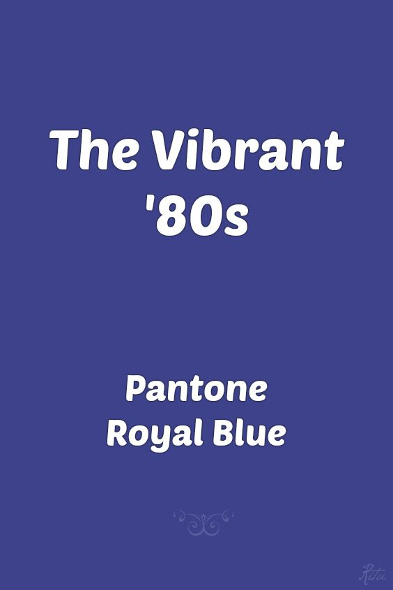 Pantone Royal Blue