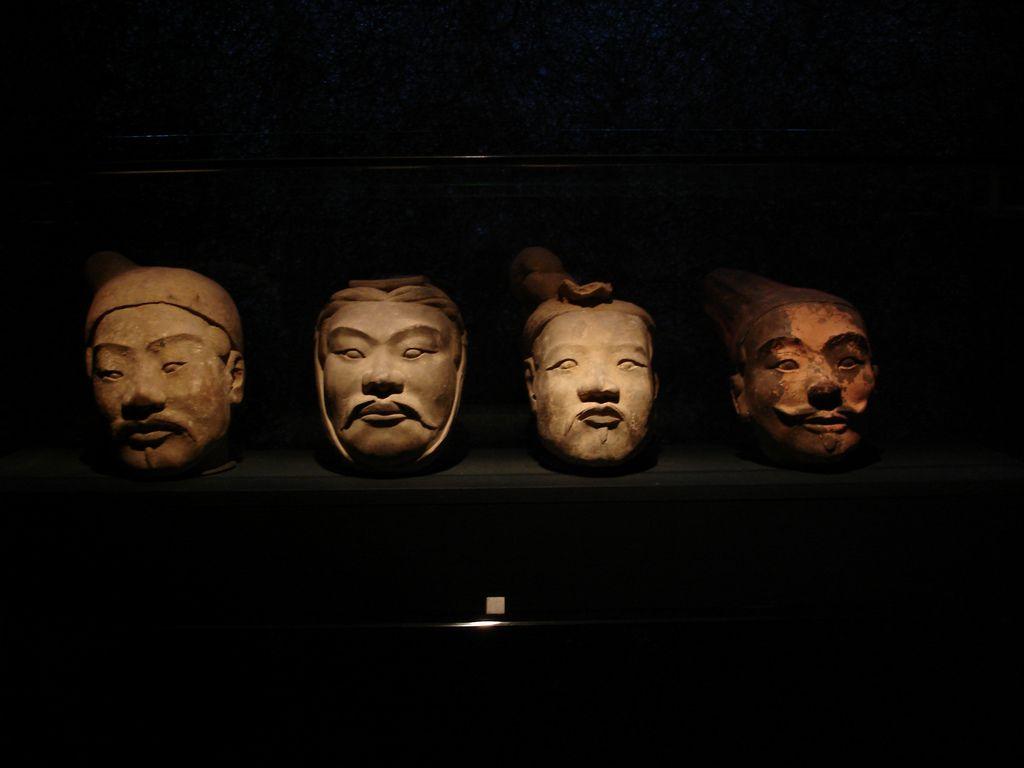 Terra Cotta Chinese warriors.