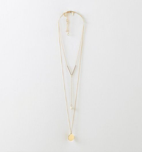 8960839510b3 Collares · Estatura · Duo de colliers Femme vieil or - Promod