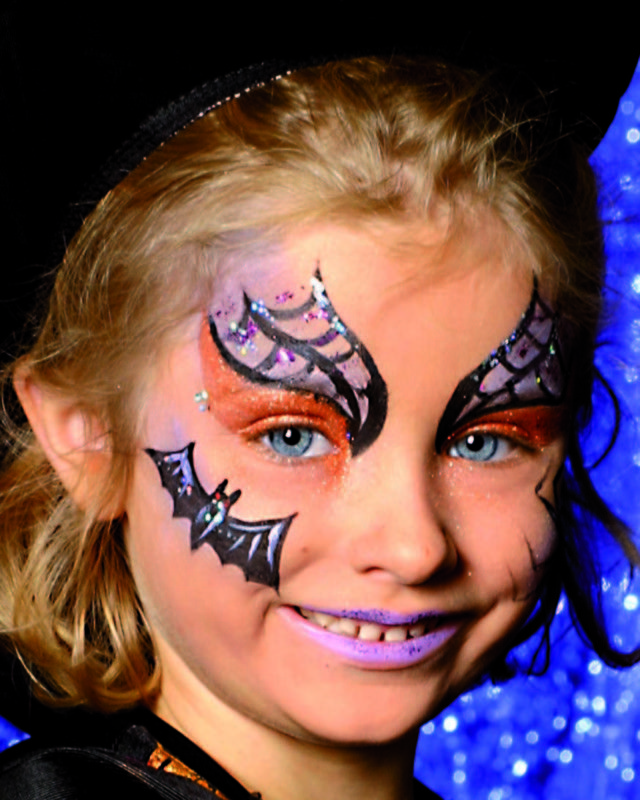 witch - face painting model Fun activities for kids Pinterest - face painting halloween ideas