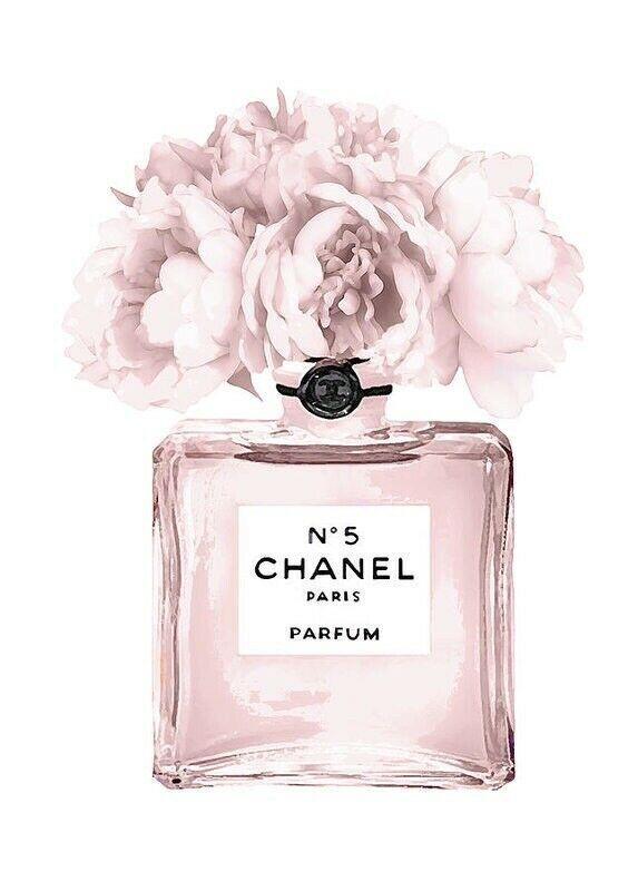Coco Chanel Perfume Bottle Print Wall Art Ebay Chanel Wall Art Chanel Art Print Fashion Wall Art
