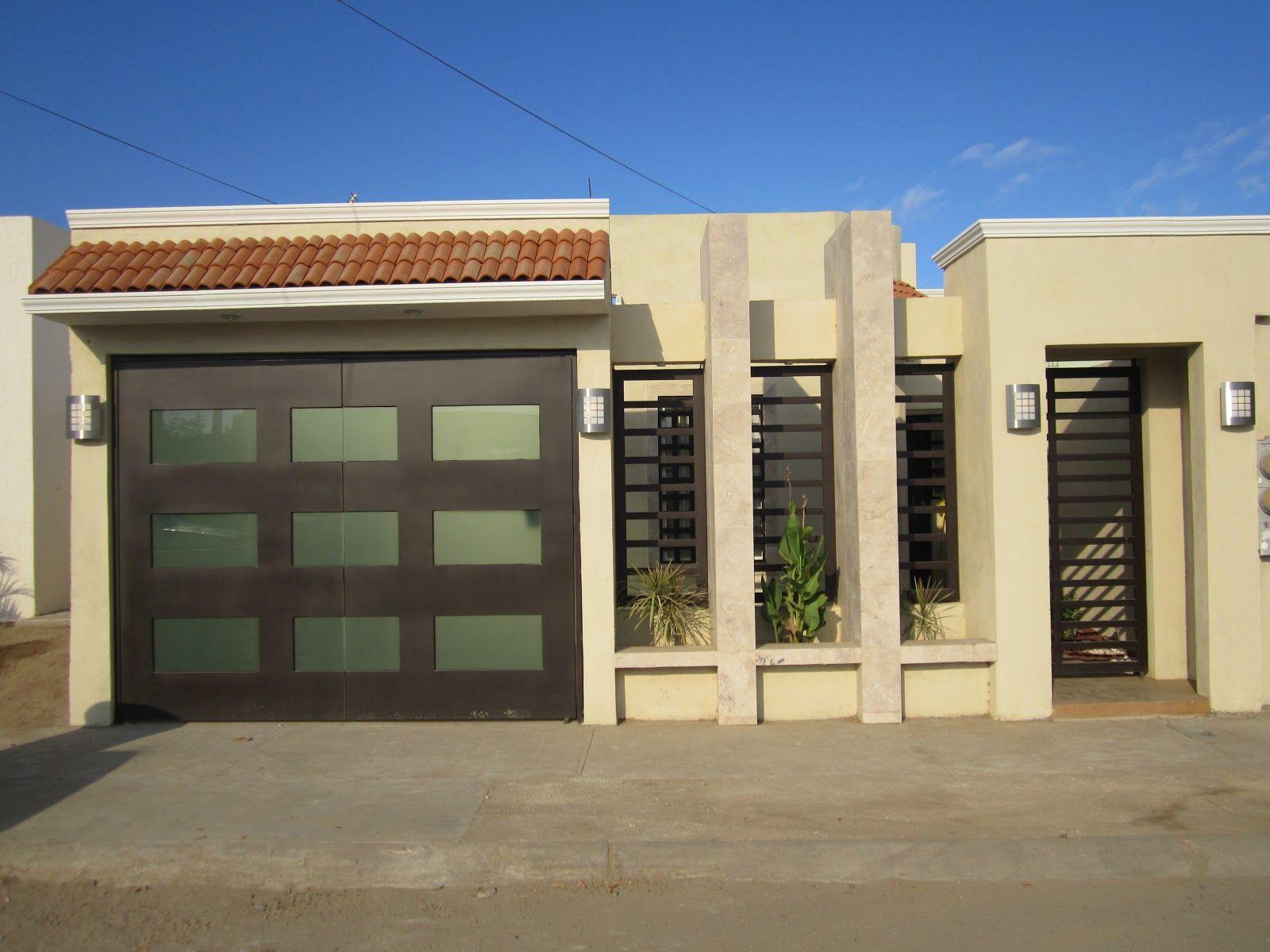 Fachadas de casas de 2 pisos fachada de casa pinterest for Fachadas de casas modernas de 2 pisos
