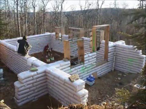 In A Modern Collapse The Need For Fortified Neighborhoods Will Arise Your Community Will Be In Danger If Hordes Of Desp Earth Bag Homes Earthship Earth Homes