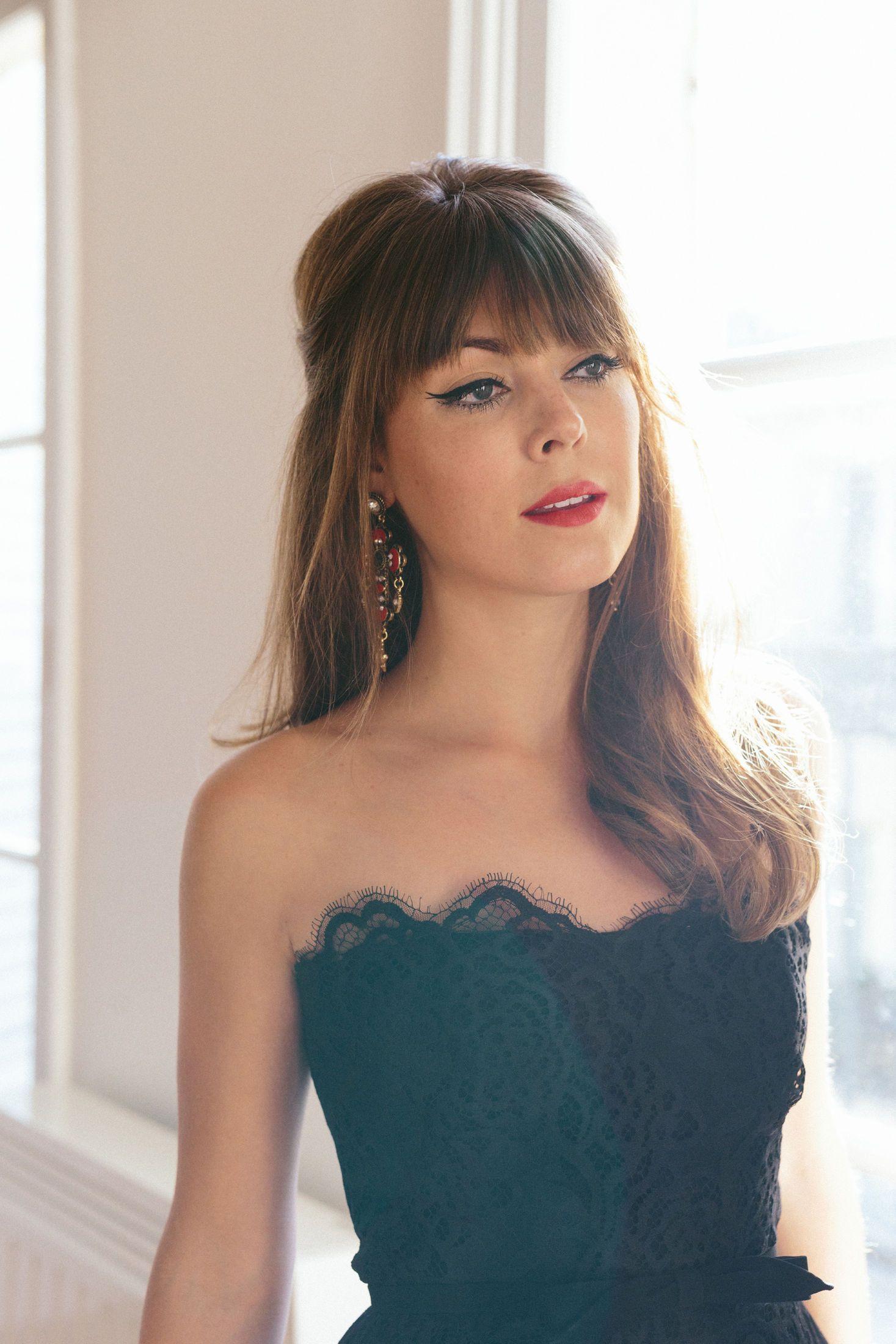 Margoandme 52 Party Hairstyles For Long Hair Hair Styles Bridesmaid Hair Bangs