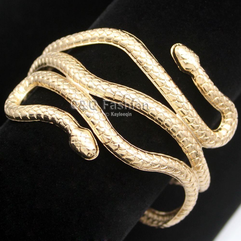 Bracelet forme serpent pas cher