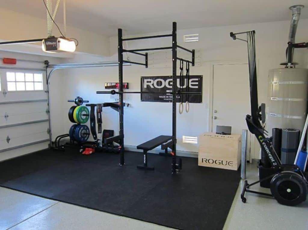 Useful And Attractive Garage Gym Home Gym Decor Home Gym Design