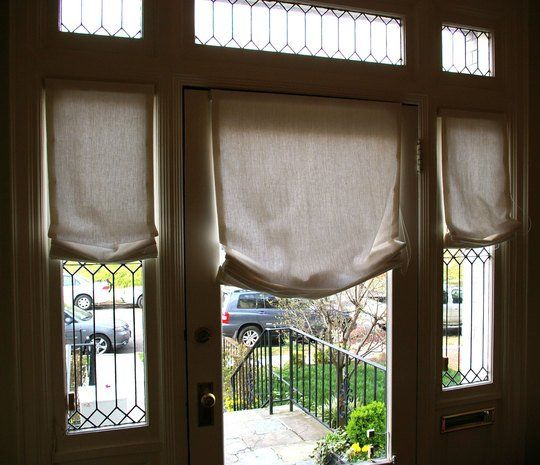 curtains drapes and blinds for a glass front door - Drapes And Blinds