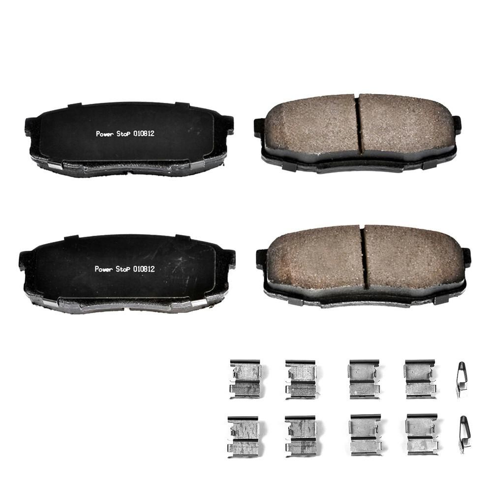 Lexus Tundra Sequoia Rear  Ceramic Brake Pads LX570 For Toyota Land Cruiser