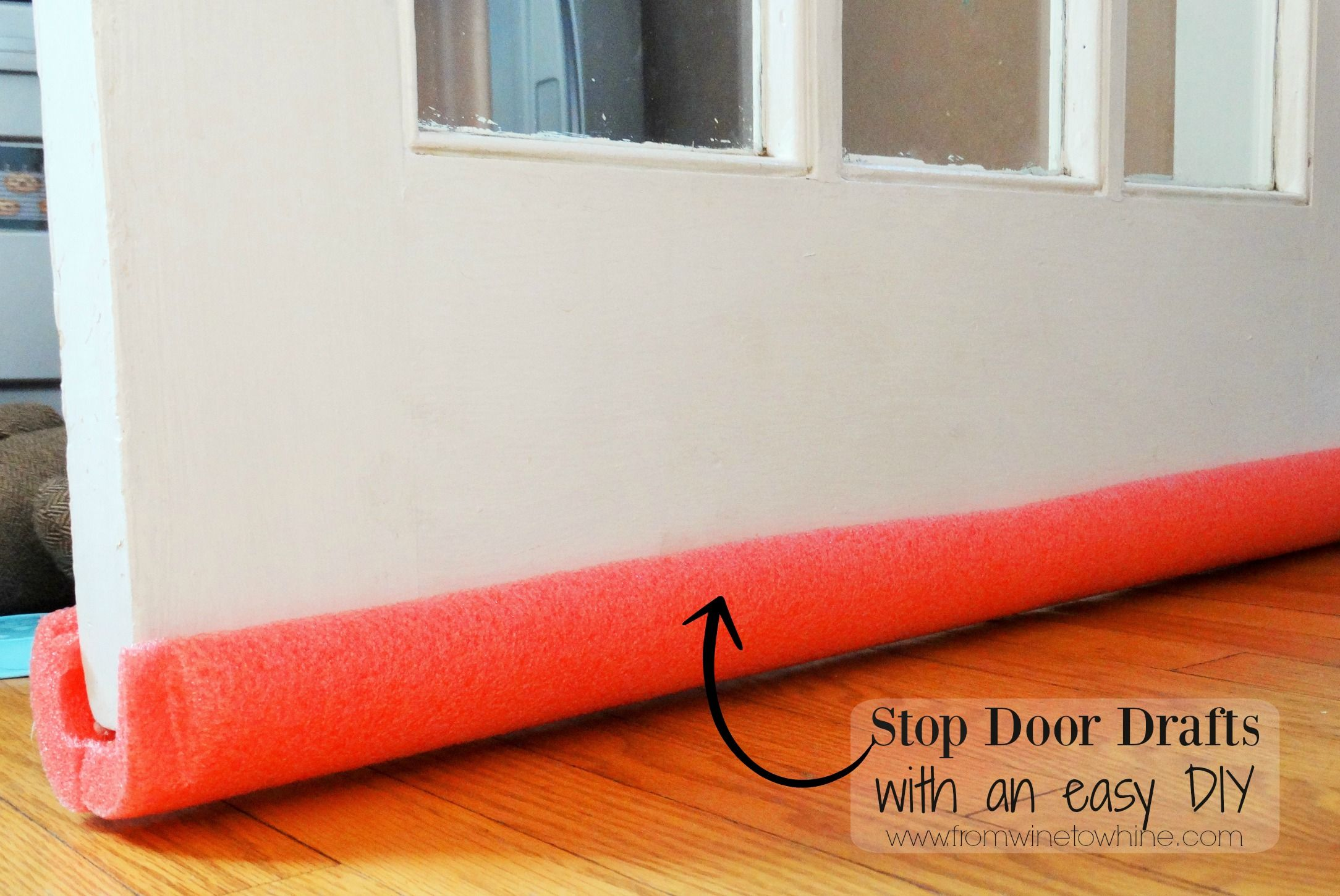 Stop Door Drafts Door Draft Draft Stopper Diy Door Draught Stopper