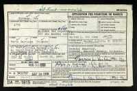 Ute Perkins Sr (1761-1844) | Family History | Family history, Family