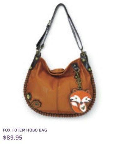 Chala Purse Handbag Hobo Cross Body Convertible Brown Butterfly Bag