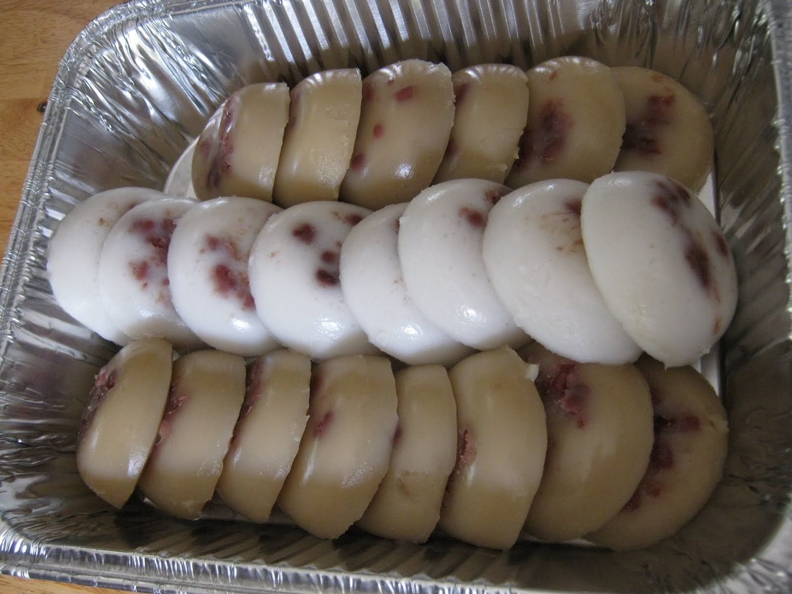 Chinese steamed cake this is another snack commonly
