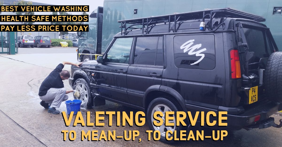 Let us know if your car needs a wash because we will do it