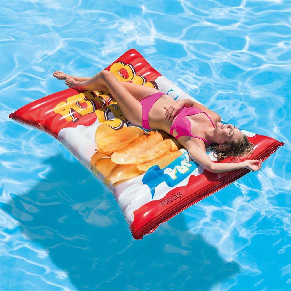 Intex 58776 Crisps Mat Inflatable Floating Mattress Con Immagini