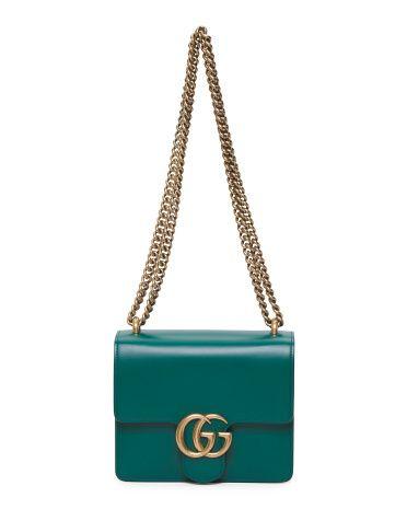 a029ea284f35 GUCCI Mini GG Marmont in Emerald | Handbag Collection. | Gucci ...