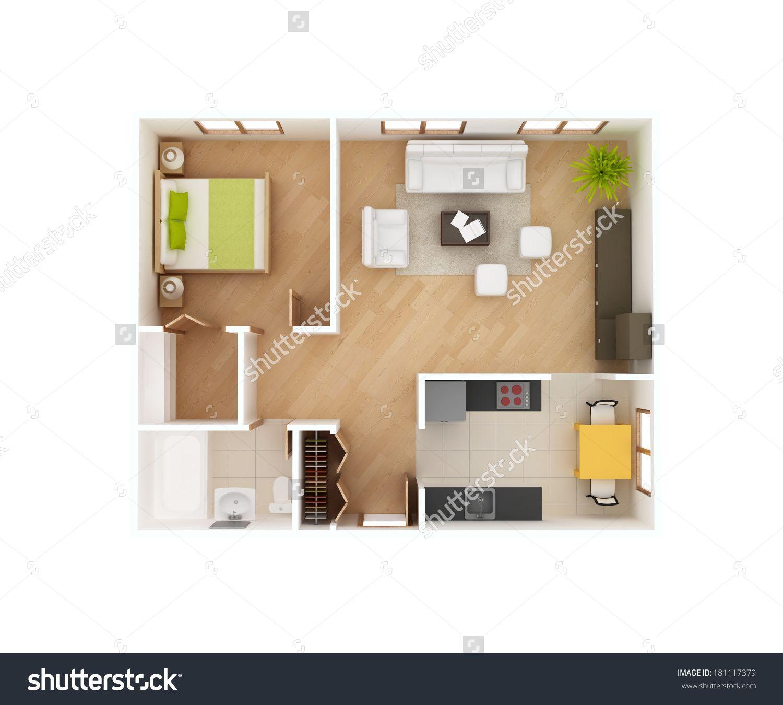 1 Bedroom House Plans Designs - Home Design