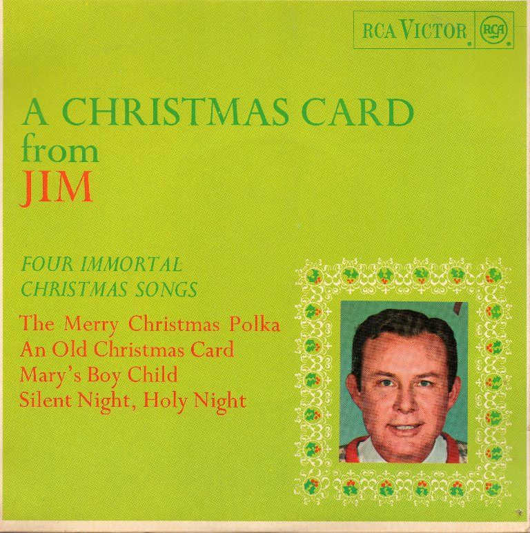 45cat - Jim Reeves - A Christmas Card From Jim - RCA - UK ...