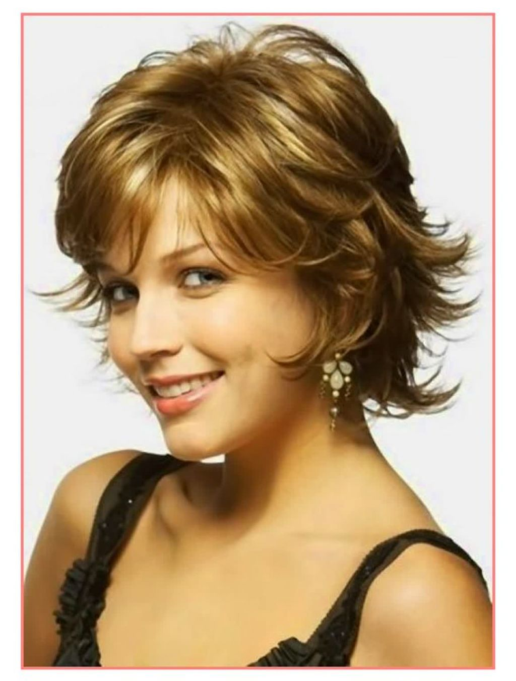 24 lovely short hairstyles for round faces pretty ideas