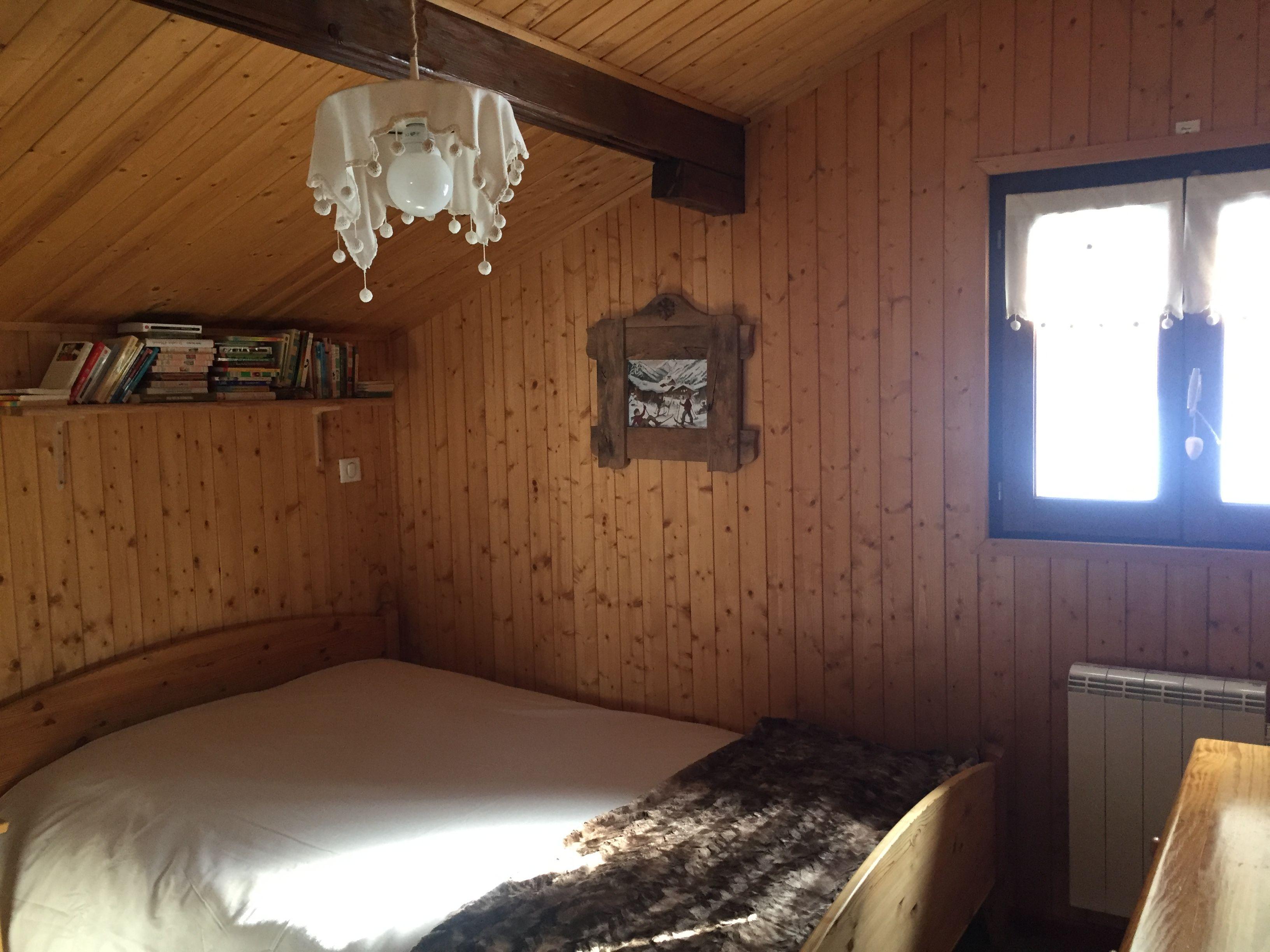 Chambre Le Flocon Avec Tv Cran Plat Chalet Le Perce Neige  # Meuble A Ecran Plat Dans Une Chambre