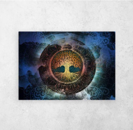 #treeoflife #spiritual #espiritualidad #chakras #universe | Displate thumbnail