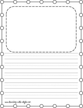 writing paper freebie classroom pinterest writing paper school and kindergarten. Black Bedroom Furniture Sets. Home Design Ideas