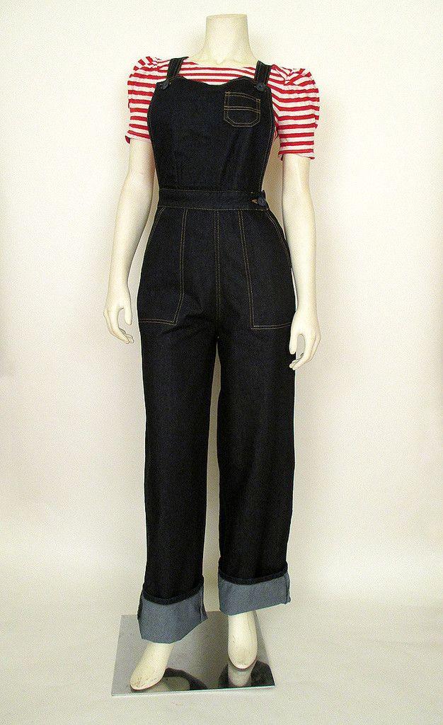 9a3c6022ea0b Rosie the Riveter Overalls