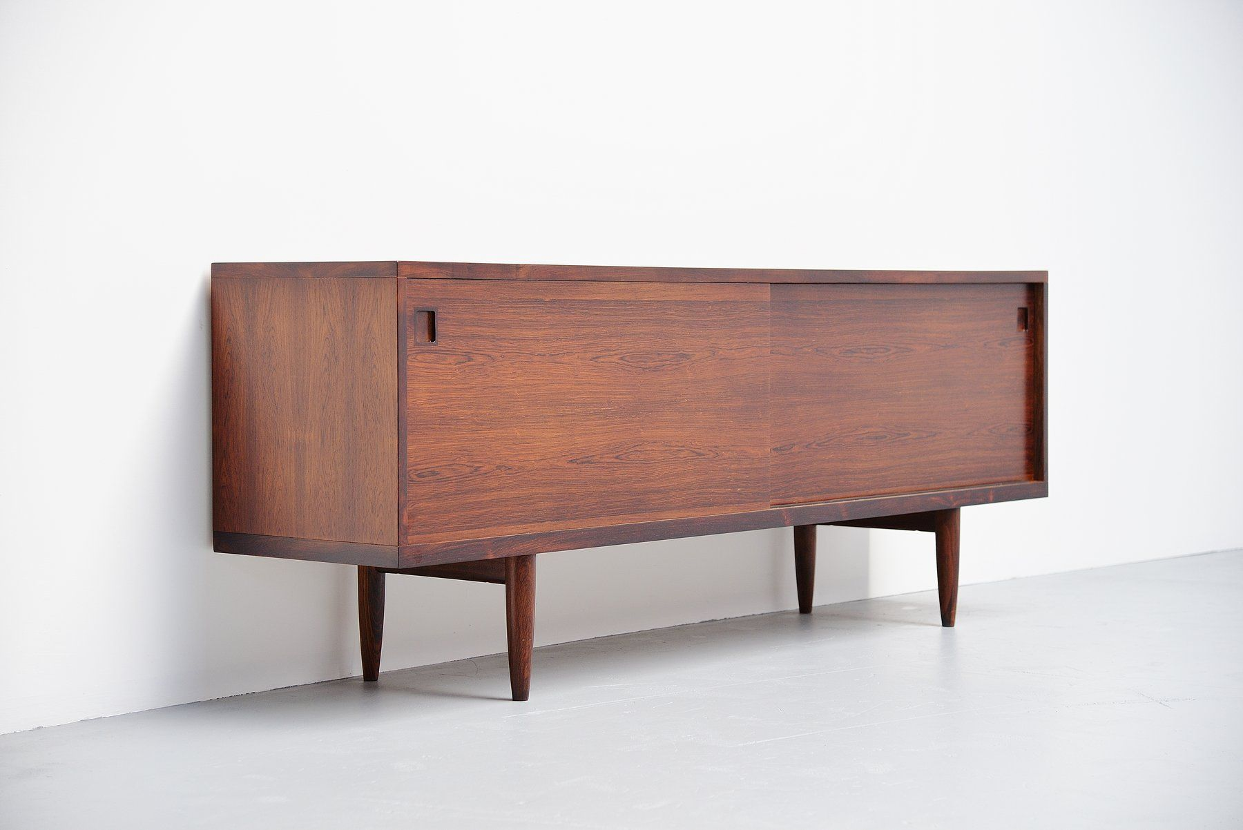 Nice For Sale on Superb quality sideboard designed by Niels Otto Moller produced by J M ller M belfabrik Denmark This high quality made sideboard is made