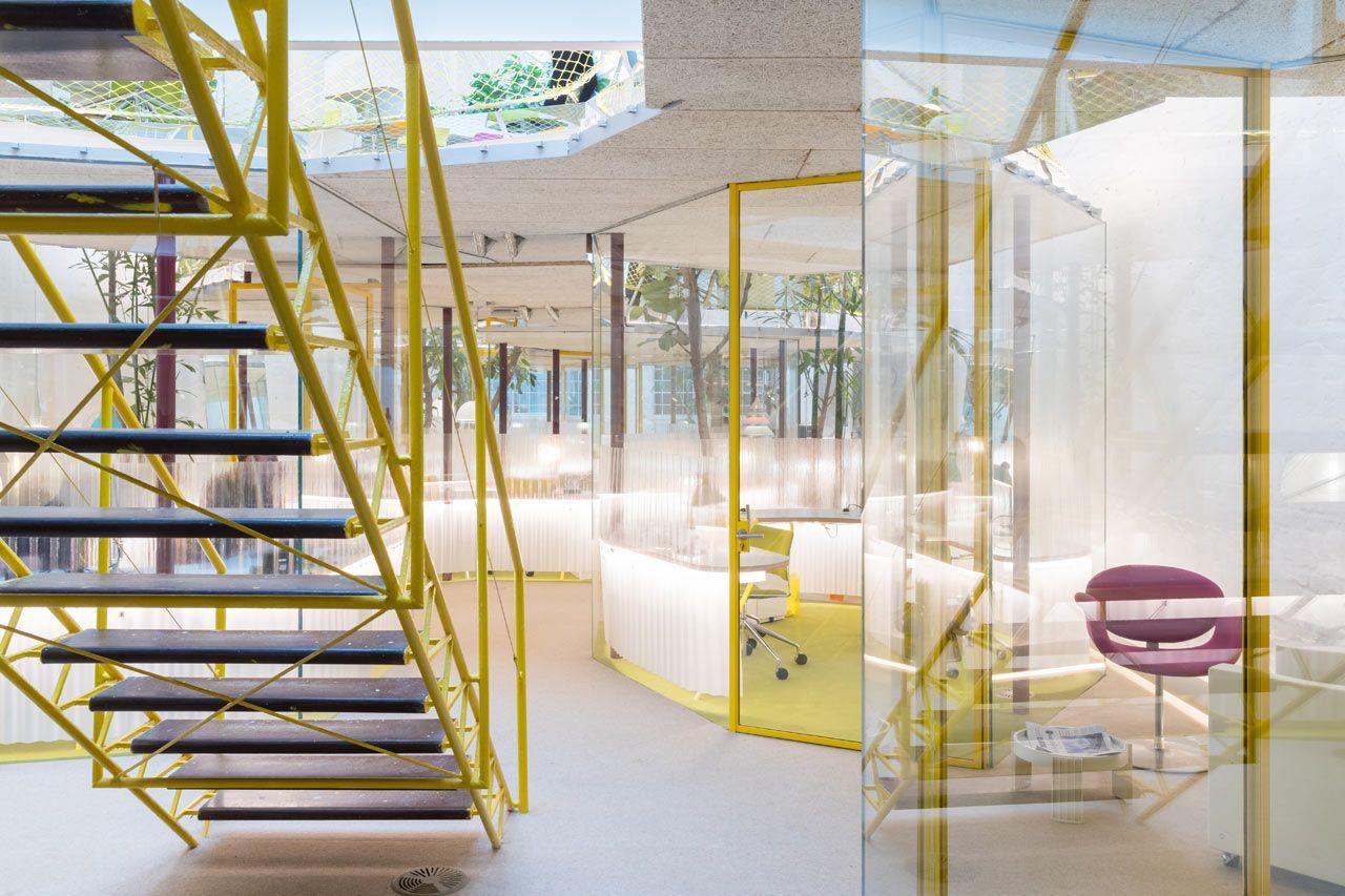 Selgascano Designs New Creative Workspace For Second Home Creative Workspace Coworking Space Workspace Design