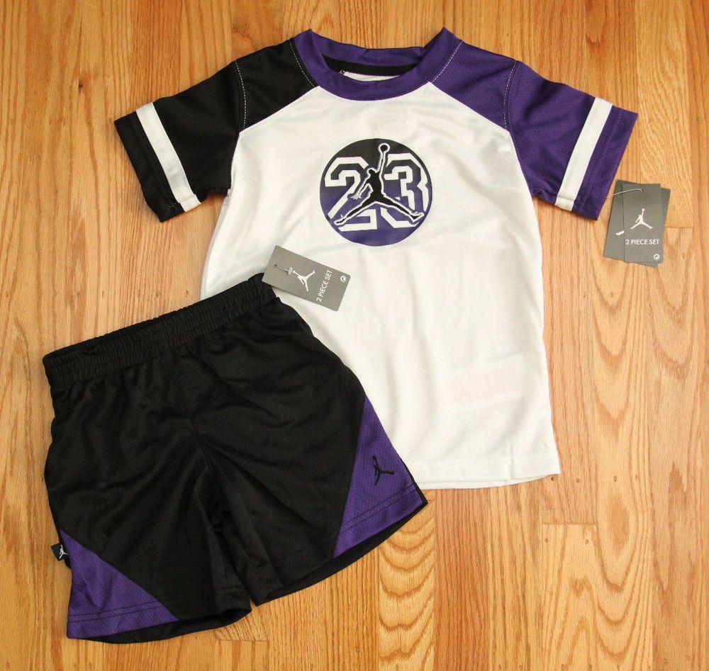 Air Jordan Toddler Boy Tee \u0026 Shorts Set