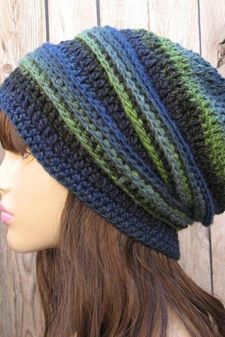 Crochet Pattern Crochet Hat Slouchy Hat Crochet Pattern Pdf