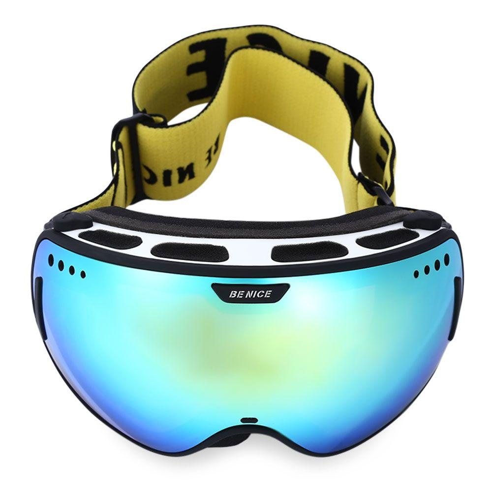 ffcb401827be BENICE UV Protection Double Anti-fog Lens Big Spherical Skiing Glasses Snow Goggles  Skiing Eyewear. Visit