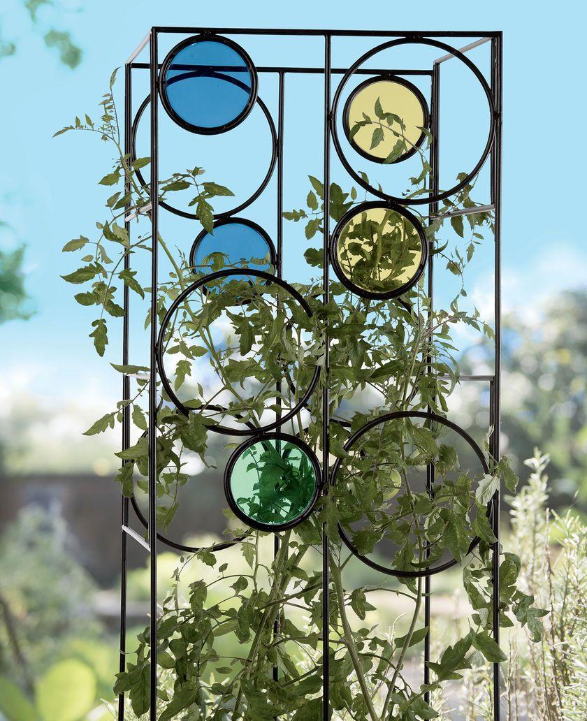 Kaleidoscope Tomato Cage Heavy Duty Decorative 400 x 300