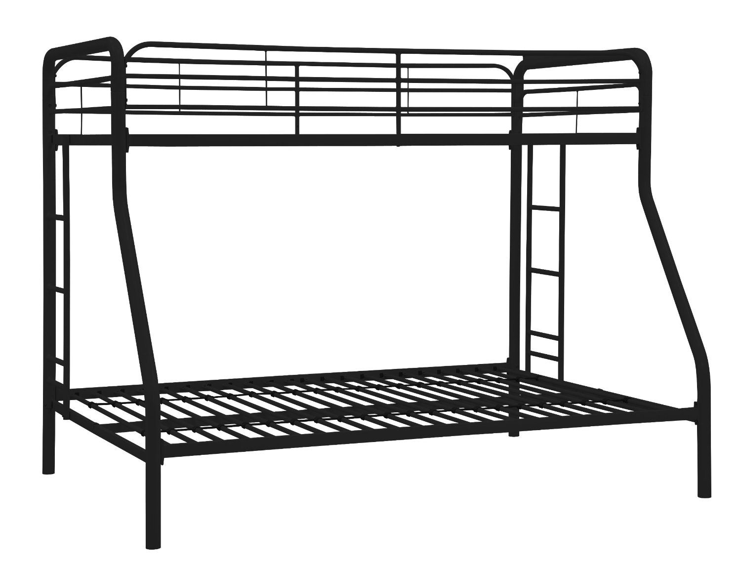 Best cheap twin over full bunk bed under 200 bedroom for Cheap twin bunk bed frames