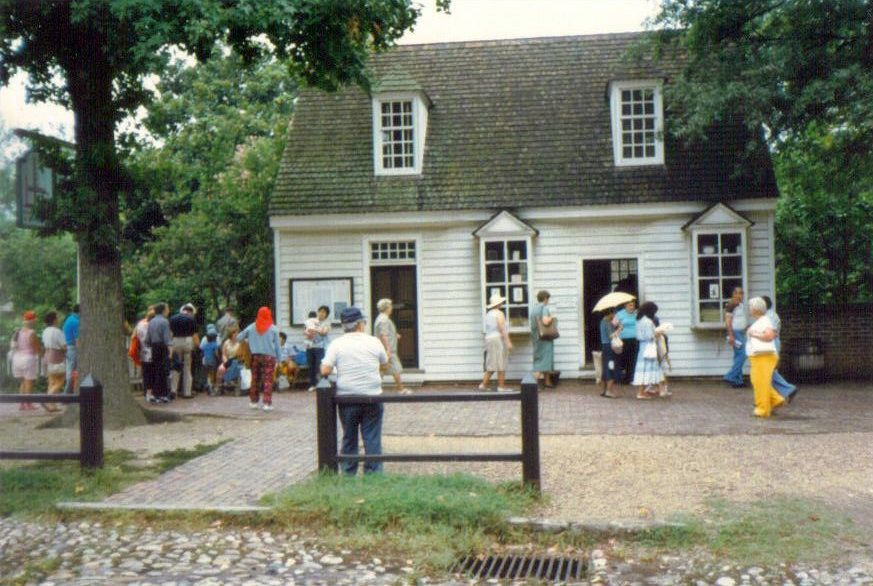 Printer Bookbinder And Post Office, Colonial Williamsburg, Virginia, United  States Www.stephentravels