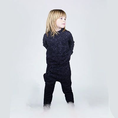 Wool Mix Maj Mist Print Sweatshirt by Ine De Haes - Junior Edition www.junioredition.com