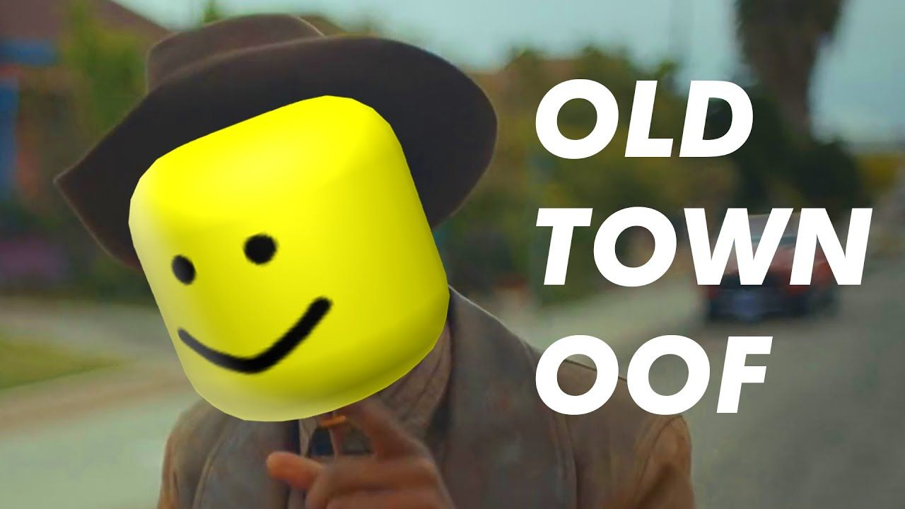 Old Town Oof Lil Nas X Roblox Roblox Old Town Cute Anime Boy