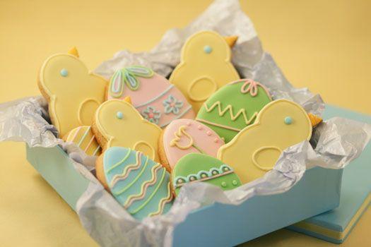 Beautifull easter cookies