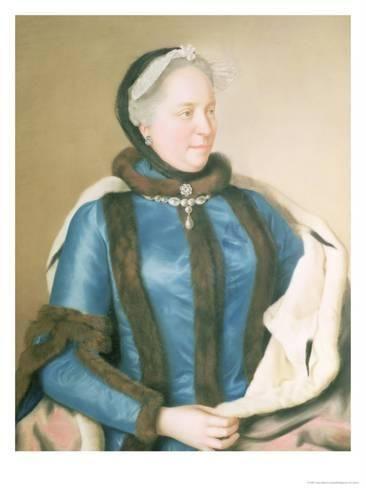 Empress Maria Theresa Of Austria Circa 1770 Giclee Print Jean Etienne Liotard Allposters Com In 2021 Maria Theresa Historical Fashion Austria