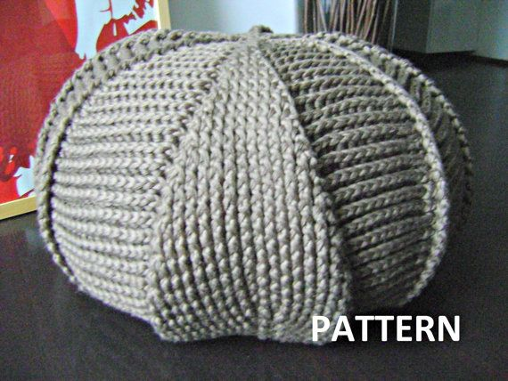 4 Knitted & Crochet Pouf Floor cushion Patterns by isWoolish | Diy ...