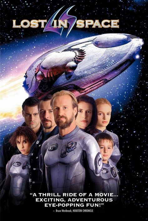 Science fiction film : lost in space (1998)