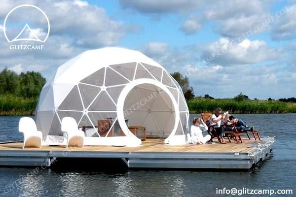 Geodesic Dome Tent Gl&ing Tent for Resorts C&site // & Geodesic Dome Tent Glamping Tent for Resorts Campsite http ...