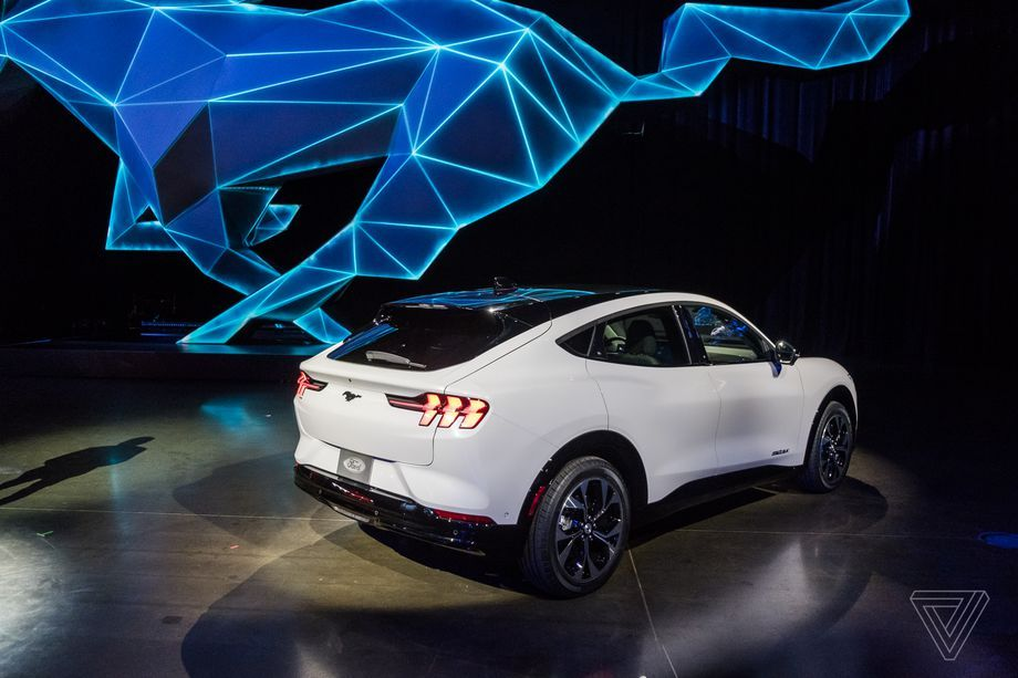 Up Close With Ford S Electric Mustang Suv The Mach E In 2020 Mustang Ford Ford Electric