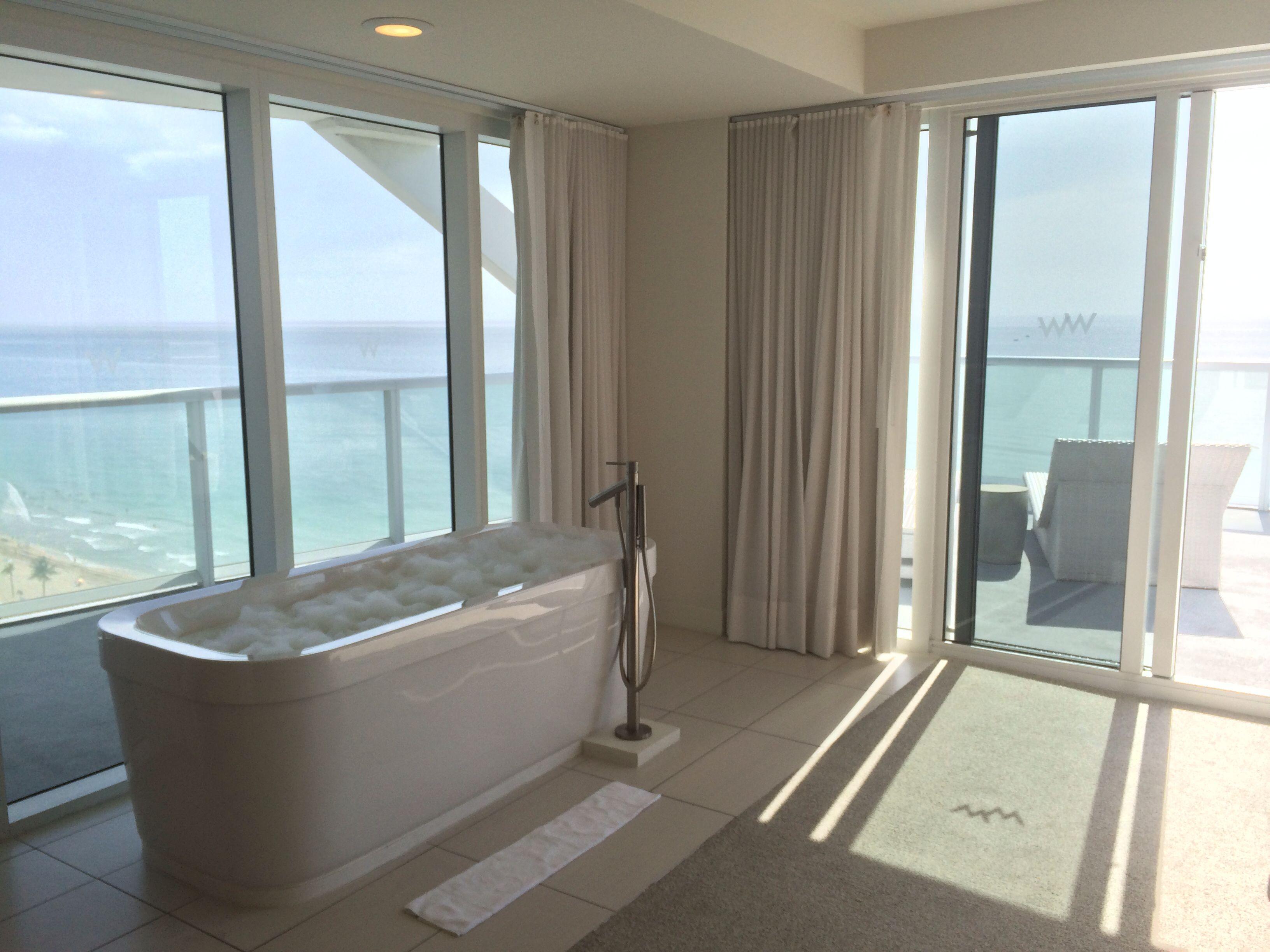 Oasis Suite Bathtub Fort Lauderdale Hotels Fort Lauderdale W Fort Lauderdale