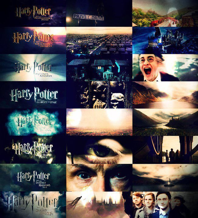 The Openings First Scene And Last Scene Of Each Of The Movies Harry Potter Obsession Harry Potter Love Harry Potter Movies