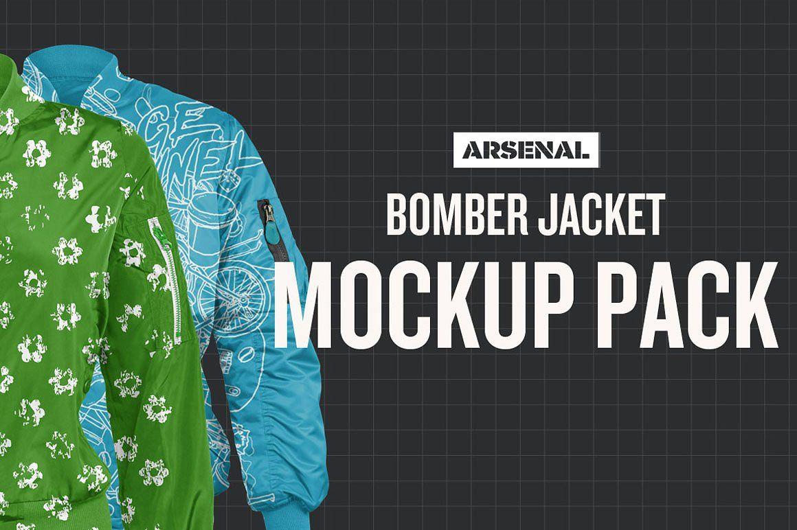 Jacket Mockup Varsity And Bomber Jacket Templates Psd Mockup