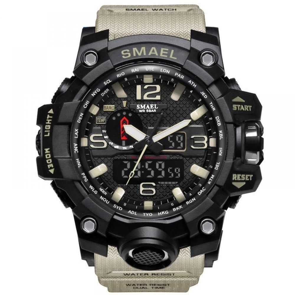 Men's Military Waterproof Watch #sportswatches